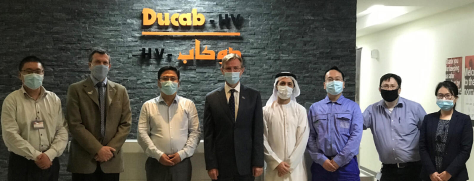 Ducab HV and Shangha